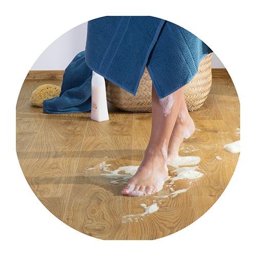 Waterproof vinyl floors